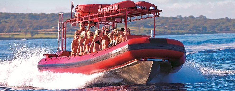 Maui Redline Forbidden Coast & Molokini Raft Tour