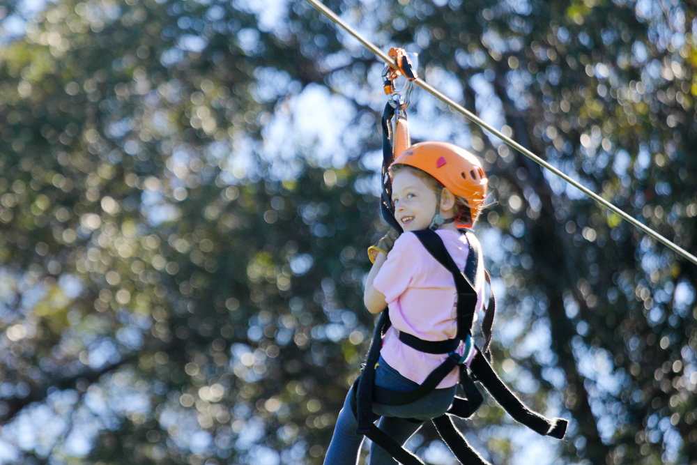 Take the whole family ziplining with North Shore Zipline