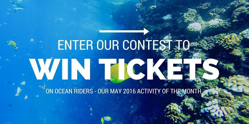Win tickets on an Ocean Riders trip